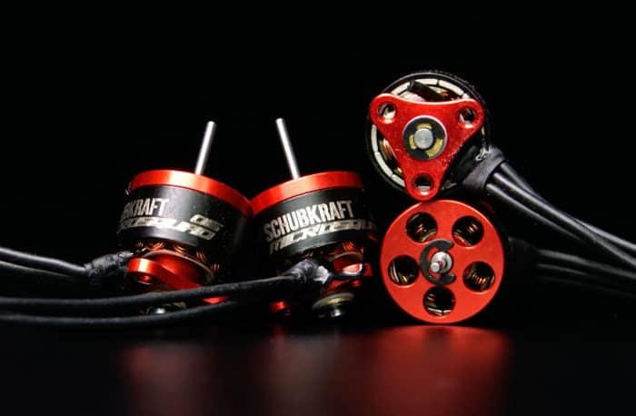 SCHUBKRAFT Microsquad 0603 20000kV Brushless Motor - SET