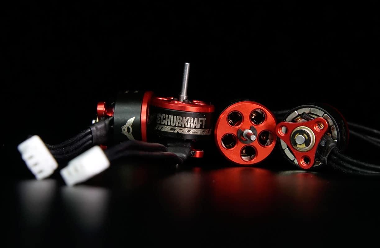 Quadrocopter & Multicopter SCHUBKRAFT Microsquad 0603 20000kV