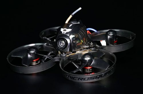 Microsquad 75mm X2 Pro BLACK EDITION Brushless 2S with built-in Receiver  (DIY BUILD KIT)