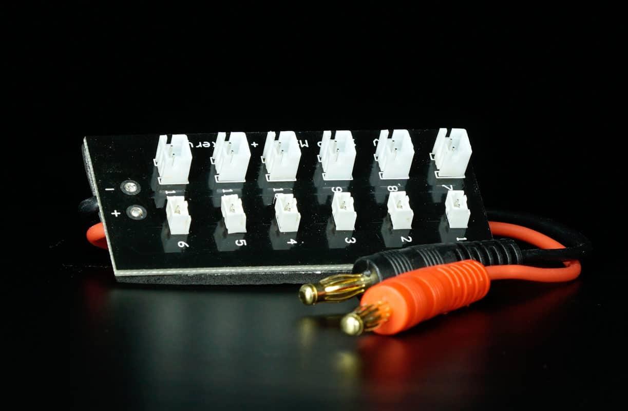 SCHUBKRAFT 6 in 1 USB LiPo// LiHV Ladeger/ät f/ür 1S Akkus